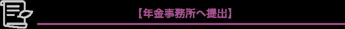社会保険の届出書類【年金事務所へ提出】
